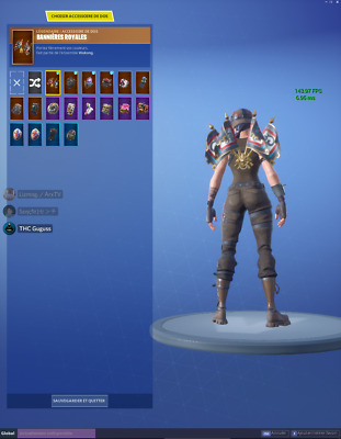 Compte Fortnite Écumeuse Renégate / Epic Game Account Renegade Raider