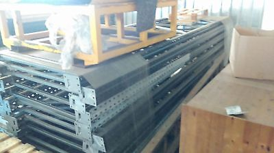 Pallet Racking Uprights 3.8m Height x 1.1m Depth. Please see other auction.