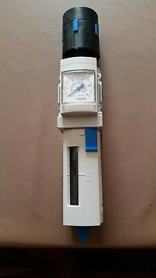 Festo MS4-LFR-¼-DG-C-R-M-AS Filter Regelventil Mit Manometer Neu
