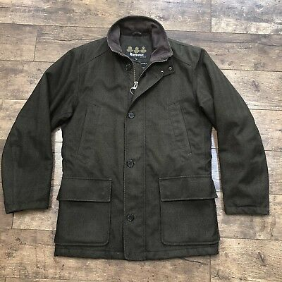 Men's Barbour Herringbone Challenger Tweed Shooting Jacket Medium Ex Con!