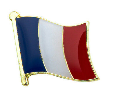 PIN S METAL DRAPEAU FRANçAIS   ENAMEL  BADGE