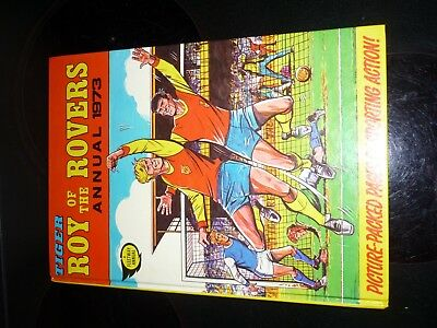 1973 ROY OF THE ROVERS ANNUAL UNCLIPPED amazing condition