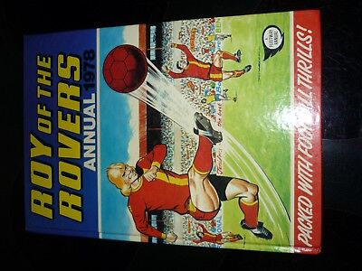 1978 ROY OF THE ROVERS ANNUAL UNCLIPPED amazing condition