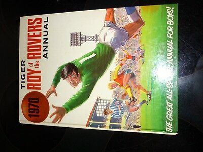 1970 ROY OF THE ROVERS ANNUAL UNCLIPPED amazing condition