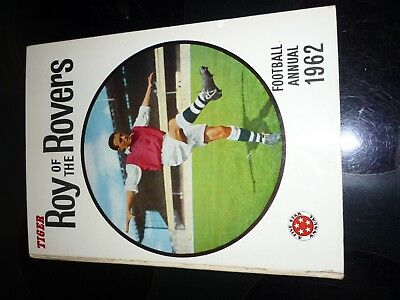1962 ROY OF THE ROVERS ANNUAL UNCLIPPED amazing condition