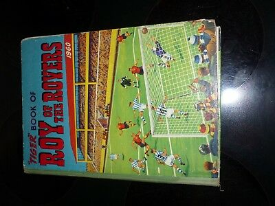 1960 ROY OF THE ROVERS ANNUAL UNCLIPPED amazing condition