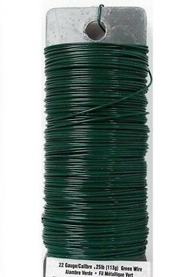 110' Feet Snare / Trip Wire Green 22 Gauge 4 Camping Hiking Trip Alarms Survival