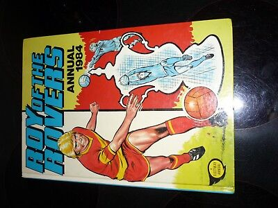 1984 ROY OF THE ROVERS ANNUAL UNCLIPPED amazing condition