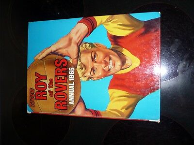 1965 ROY OF THE ROVERS ANNUAL UNCLIPPED good condition