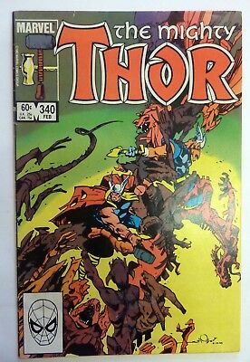 The Mighty Thor 340 Marvel Fine/VF/NM Condition Modern Age