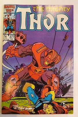 The Mighty Thor 377 Marvel Fine/VF/NM Condition Modern Age