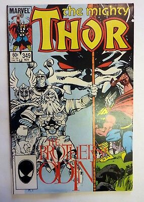 The Mighty Thor 349 Marvel Fine/VF/NM Condition Modern Age