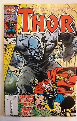 The Mighty Thor 376 Marvel Fine/VF/NM Condition Modern Age