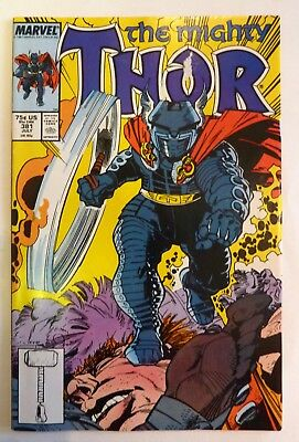 The Mighty Thor 381 Marvel Fine/VF/NM Condition Modern Age Slight Sticker Damage
