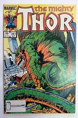 The Mighty Thor 341 Marvel Fine/VF/NM Condition Modern Age