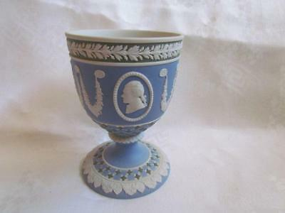 Wedgwood Jasperware Cameo Goblet Exceptional Detail