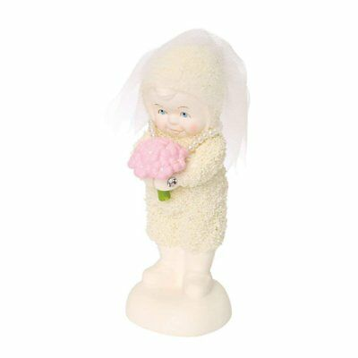 "Department 56 Snowbabies ""The Big Day"" Porcelain Figurine, 4.5"""