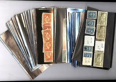 CANADA, Precancels, Perfins, Revenues & other Stamps in stock cards