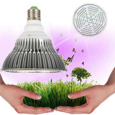 30W/50W/80W E27 LED  Pflanzen Lampe Vollspektrum Grow Light UV&IR Wachsen Licht