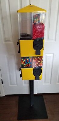 8 Compartment U-Turn Candy Machines with Key