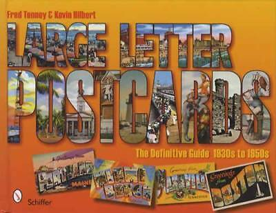 1930s-50s Vintage Large Letter Tourist Postcards Guide