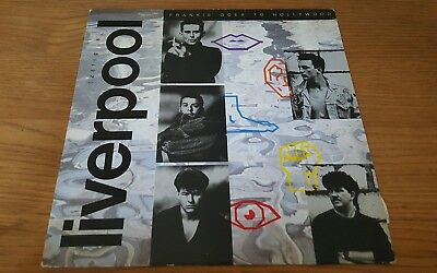 Frankie Goes To Hollywood - Liverpool vinyl LP 1986 - Good Condition