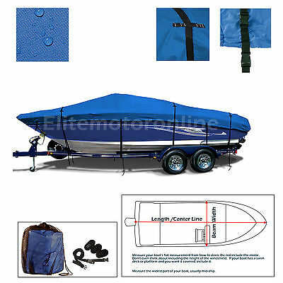 Stratos 285 Pro Heavy Duty Trailerable All Weather Boat Storage Cover