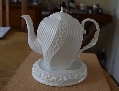 Vintage Rosenthal Porcelain Teapot And Stand