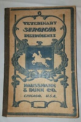 Antique 1910 Veterinary Equipment Catalog