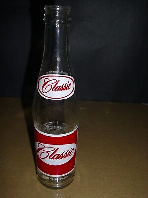 CLASSIC I0.6 oz Soda Bottle VINTAGE VERY NICE CONDITION