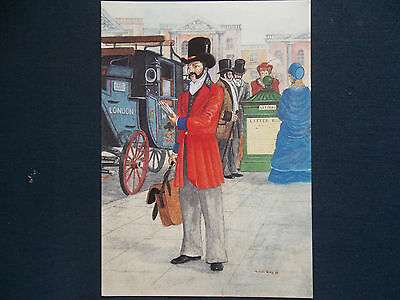 National Postal Museum H2/3 London District Letter Carrier Postcard Cover 350 Yr