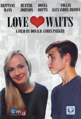 NEW Sealed Christian Drama WS DVD! Love Waits (Brittany Mann, Hunter Johnson)