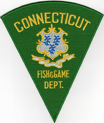 Connecticut Fish & Game Dept.Patch!