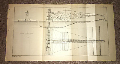 1884 Suez Canal Map Diagram Drague a Long Couloir