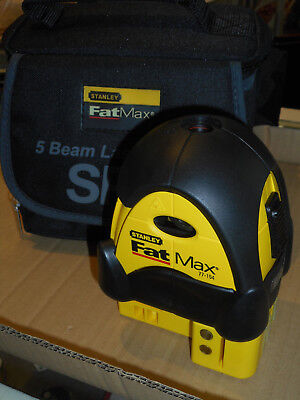 Stanley Tools SP5 FatMax 5-Beam Self-Leveling Laser Level