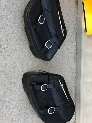 harley leather bags and hd tire semi used