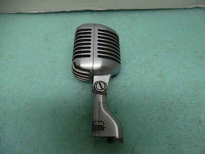 Vintage Shure Model 55S Unidyne  Dynamic Microphone