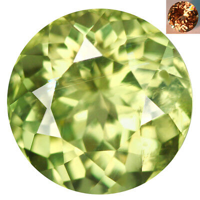 1.69Ct Superb Round Cut 7 x 7 mm AAA Color Change Turkish Diaspore