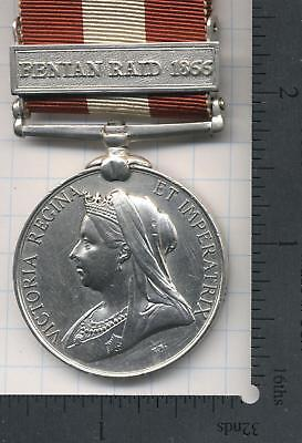 RESTORED CGSM FENIAN RAID 1866 MEDAL PRIVATE W MURPHY 19 Bn LINCOLN  FORT ERIE