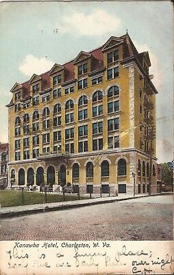 Charleston, WEST VIRGINIA - Kanawha Hotel - ARCHITECTURE - 1907