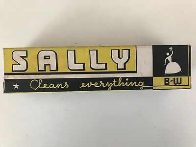 Sally Cleaner - Sally Cleans Everything - Empty Box - Vintage Grocery