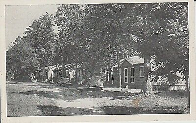 1940's The Ogle's Creek Bend Cabins in Gatlinburg, TN Tennessee PC