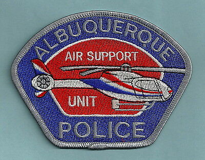 Albuquerque New Mexico Police Air Support Unit Helicopter Patch