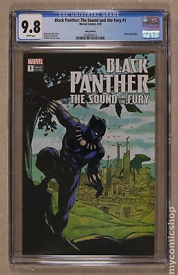 Black Panther The Sound and The Fury 1EBAY 2018 Greene Variant CGC 9.8