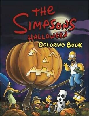 The Simpsons Halloween Coloring Book (Paperback or Softback)