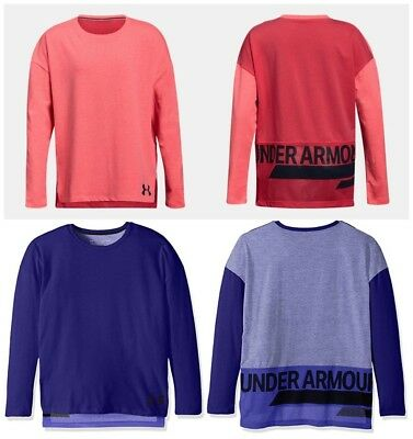 New Under Armour Girls Finale Long Sleeve Shirt MSRP $29.99 Size Medium and XL