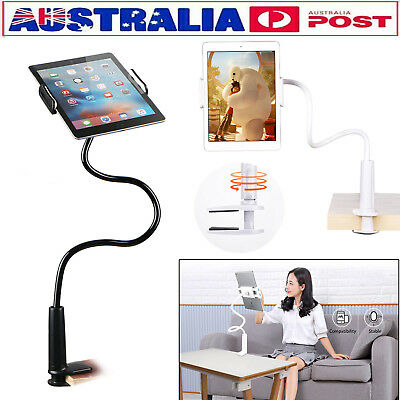 AU 360° Rotating Tablet Stand Holder Lazy Bed Desk Mount iPad Air iPhone Samsung