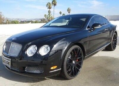 """2005 Bentley Continental GT GT Coupe - 2 Door 2005 Bentley Continental GT Coupe with 22"""" Giovanna Wheels Full Grill & Spoiler"""
