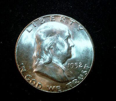 1952-S Franklin Half Dollar Gem Uncirculated