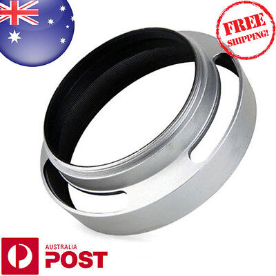 43mm Metal Lens Hood Tilted Vented Lens Hood Shade Sony Lumix Fuji Nikon Z045SF